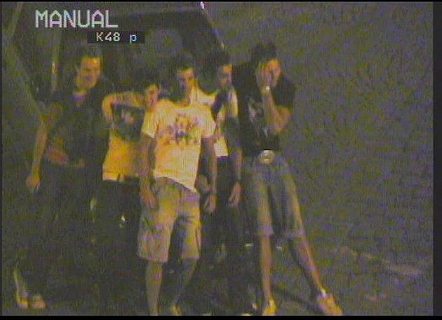 Záběry z policejní kamery na Zelný trh
