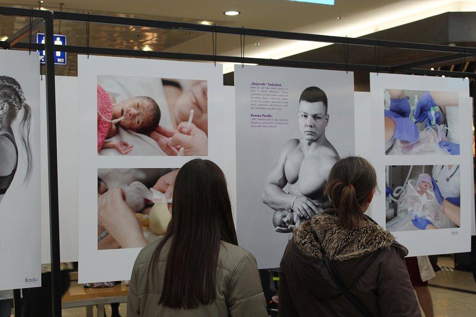 Představit lidem malé bojovníky, kteří po předčasném narození skončili v péči lékařů z neonatologického oddělení Fakultní nemocnice Brno má výstava, která v pondělí začala v brněnské Galerii Vaňkovka.