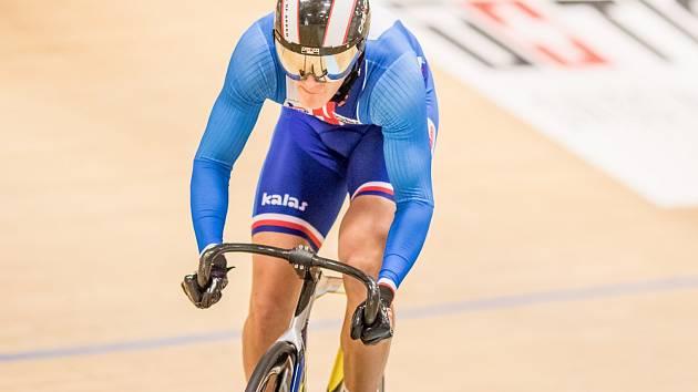 Dráhový cyklista Pavel Kelemen.