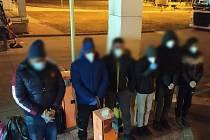 Policisté odhalili šest běženců v noci na sobotu u Lanžhota.