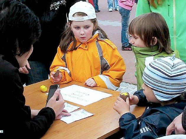 Soutěž pro děti Slatinarekord 2011.