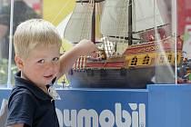 Rodiče s dětmi si od čtvrtka mohou prohlédnout výstavu stavebnice Playmobil v nákupním centru Olympia.