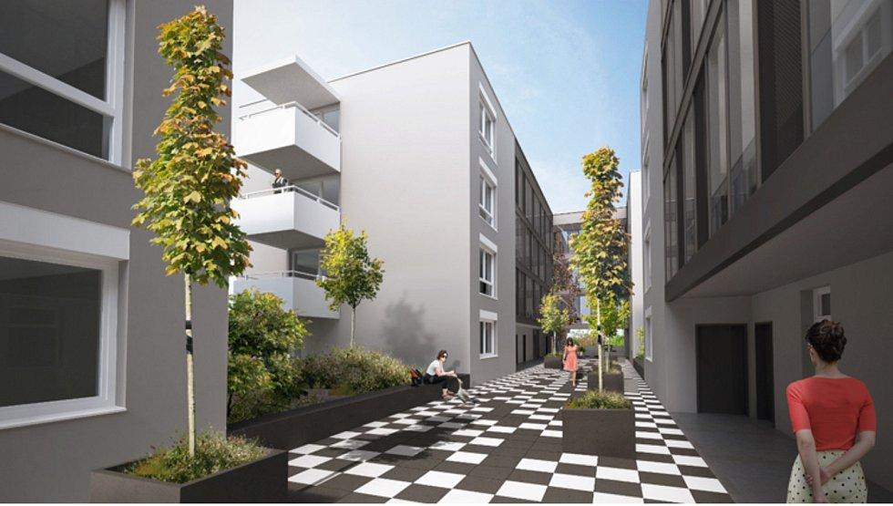 Městské bytové domy ve Vojtově ulici v Brně.