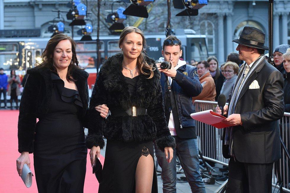 Brno 12.3.2019 - Slavnostní premiéra filmu Skleněný pokoj v brněnském univerzitním kině Scala.