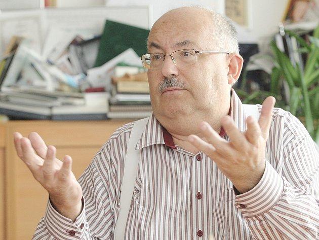 Předseda představenstva Regionální hospodářské komory Brno Miloš Škrdlík, který je také šéfem sítě obchodů Brněnka.