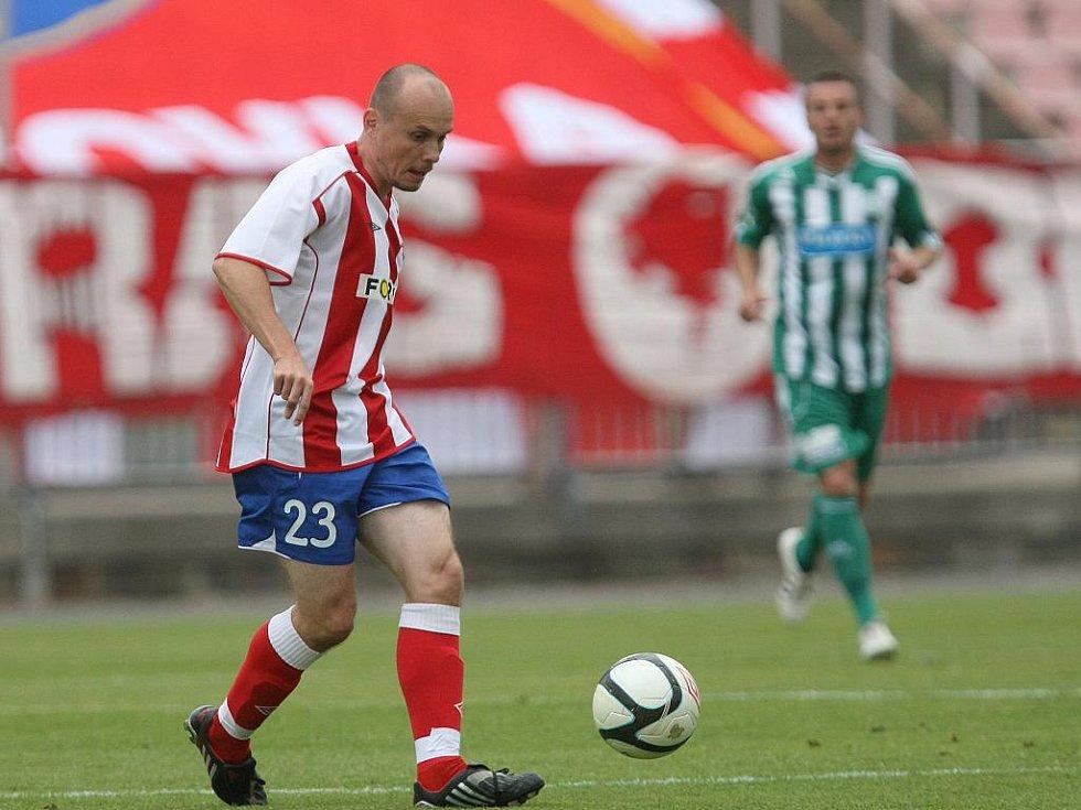 Fotbalista Zbrojovky Václav Koloušek.