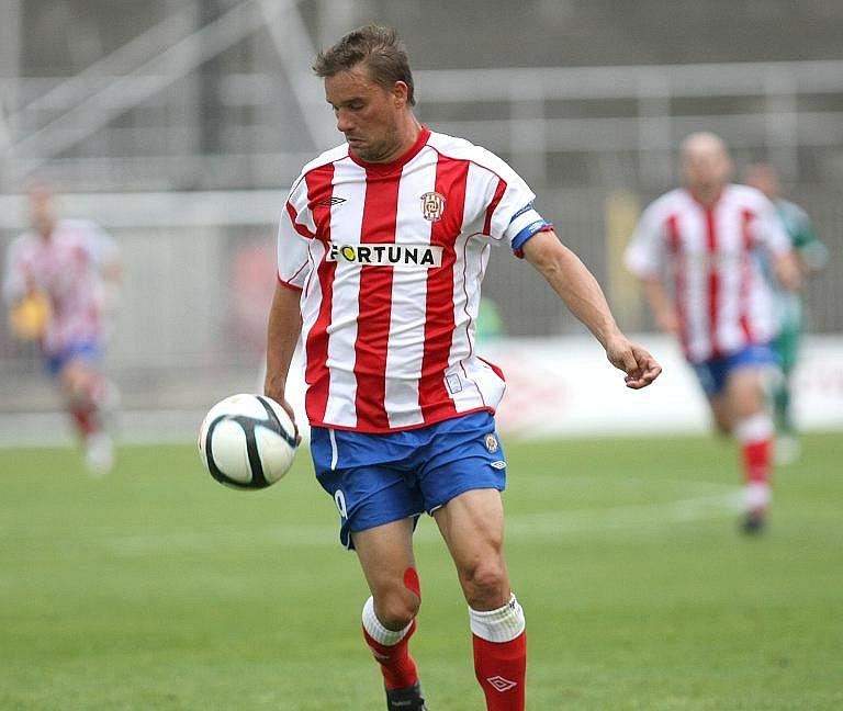 Fotbalista Zbrojovky Švancara.