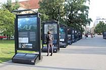 Voda základ života. Na minulost, přítomnost a budoucnost vody na Zemi poukazuje výstava s názvem Voda a civilizace na Moravském náměstí.