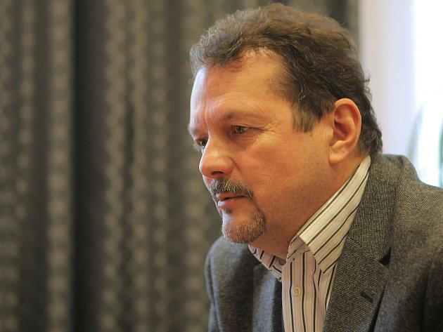 Ředitel brněnských strážníků Jaroslav Přikryl.