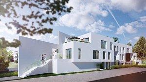O luxusní funkcionalistické byty v ulici Barvy na Lesné je zájem.