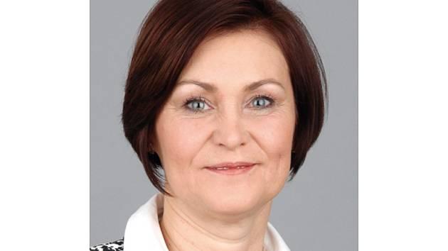 Starostka obce Sivice Marie Kousalová.