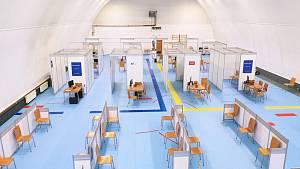 Očkovací centra na jihu Moravy.