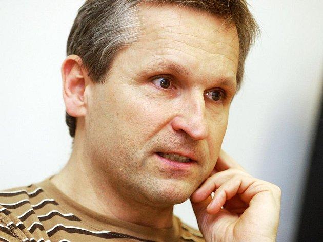 Plavecký kouč a předseda brněnské Komety Zdeněk Tobiáš.