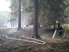 Požár v Drásově