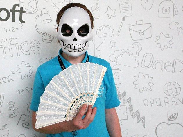 Školáci mohli při Prezentiádě využít i netradiční kostýmy.
