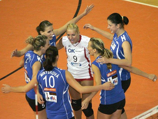 Budou se Brňanky radovat i v pohárovém zápase s Olomoucí?