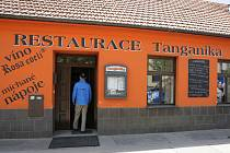 Brněnská restaurace Tanganika.