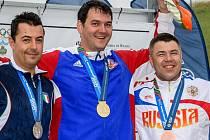 Brněnský závodník v disciplíně trap Jiří Lipták k dubnové čtvrté příčce z Brazílie přidal o víkendu vítězství při dalším Světovém poháru v San Marinu.