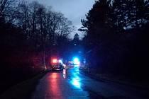 Tragédií skončila havárie u Želešic na Brněnsku. Řidička nepřežila náraz do stromu.
