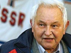 Bývalý hokejový obránce a legenda Komety Brno Rudolf Potsch.