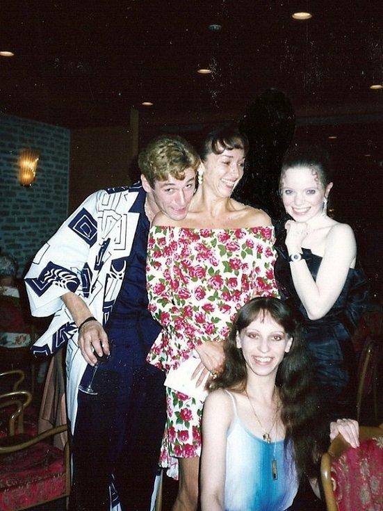 Jana v Tokiu, Patrick Dupond, Isabelle Guérin, Katherine Healy.