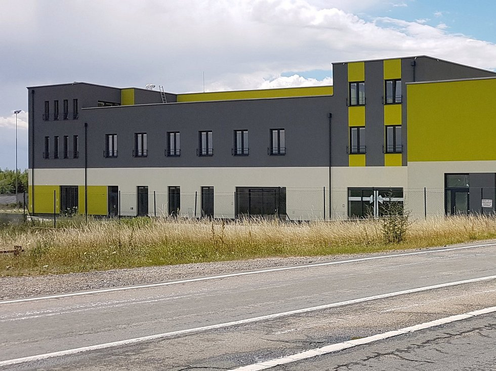 Plánovaná podoba nového kasina u Holubic.