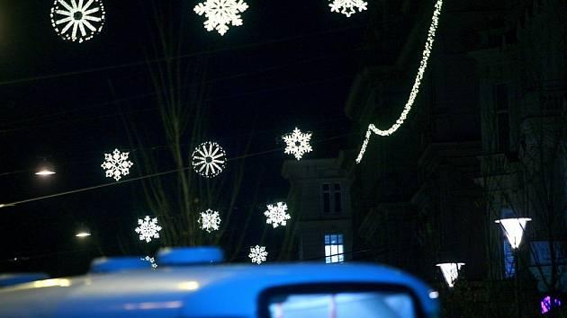 Osvětlení v centru Brna zůstane stejné jako loni. Ozdobí náměstí Svobody, Dominikánské náměstí, Starou radnici, Zelný trh a okolní ulice.