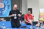 Festival Prototyp a festival Brno Mini Maker Faire.
