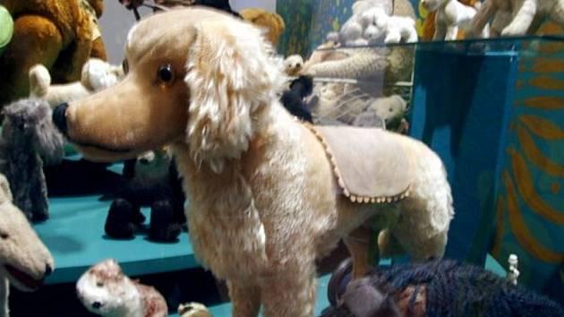 Ze sbírky hraček Milady Kollárové.