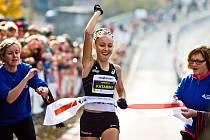 Slovenská běžkyně Katarína Berešová vyhrála třikrát závod Vokolo priglu.