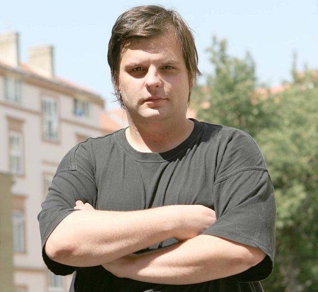 Spolumajitel nakladatelství Větrné mlýny Petr Minařík.