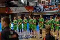 Basketbalistky KP Brno.