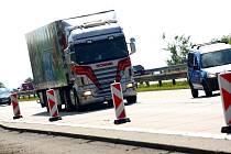 Opravy na dálnici D1 způsobují řidičům problémy.