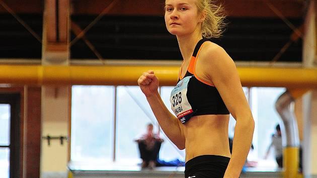 Výškařka Michaela Hrubá.