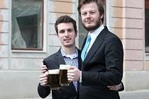 Andrej Vališ (na snímku vlevo) a Jan Vlachynský.