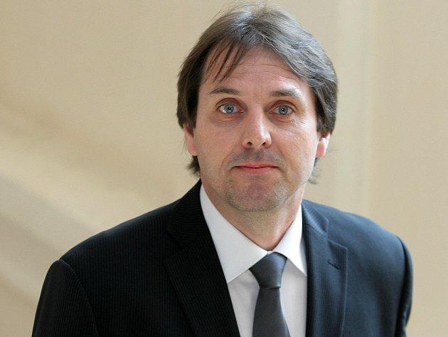 Pavel Dekař u soudu v Brně.