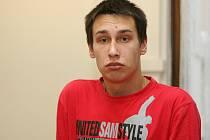 Za srpnovou loupež ve Znojmě dostal osmnáctiletý David Soudil tři roky podmíněně na pět let.