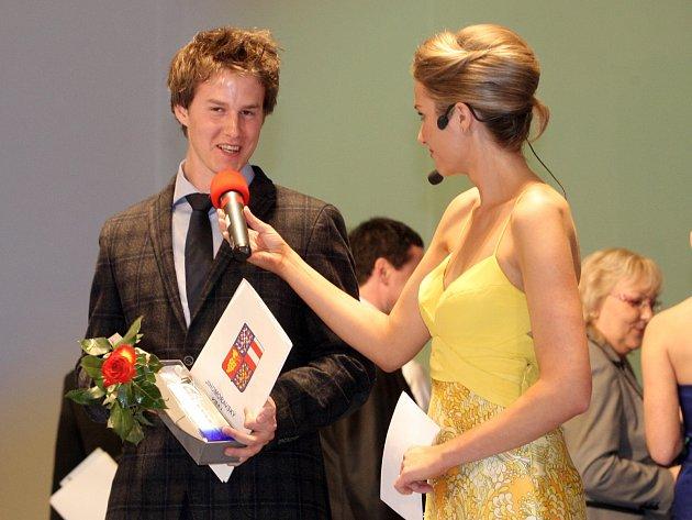 Vyhlášení anPavel Kelemen ovládl hlavní kategorii pro nejlepšího sportovce.kety Sportovec Jihomoravského kraje 2013.