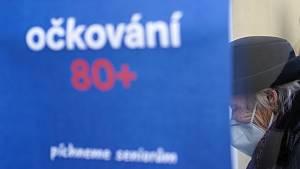 Očkování vakcínou proti Covid-19 v Těšanech na Brněnsku