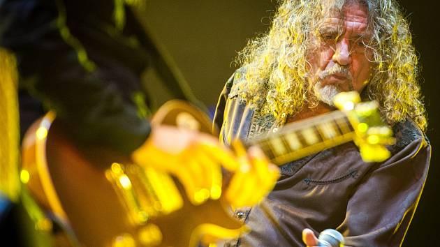 Zpěvák Robert Plant