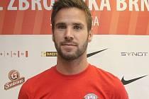 Fotbalista Matúš Lacko.