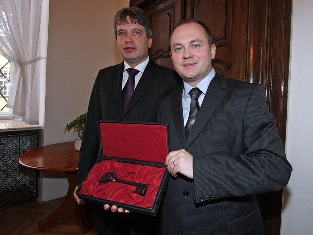 Roman Onderka a Michal Hašek.