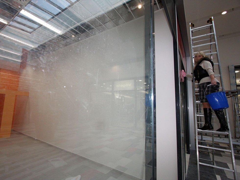 Nové nákupní centrum v Bohunicích