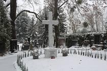 Slavnostní otevření nového pietního místa na Ústředním hřbitově.