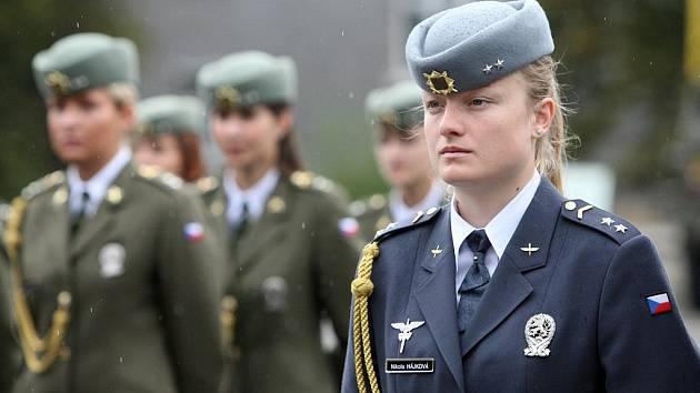 Slavnostní vyřazení absolventů Univerzity obrany, kterého se zúčastnil mimo jiné ministr obrany ČR Alexandr Vondra.