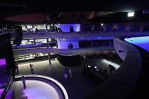 Nově otevřené Sonocentrum.