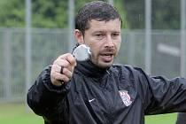 Asistent trenéra fotbalové Zbrojovky Brno Lukáš Přerost.