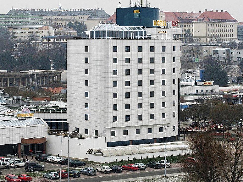 Hotel Boby v Brně.