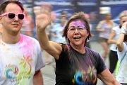 Spokey Rainbow Run na brněnském výstavišti