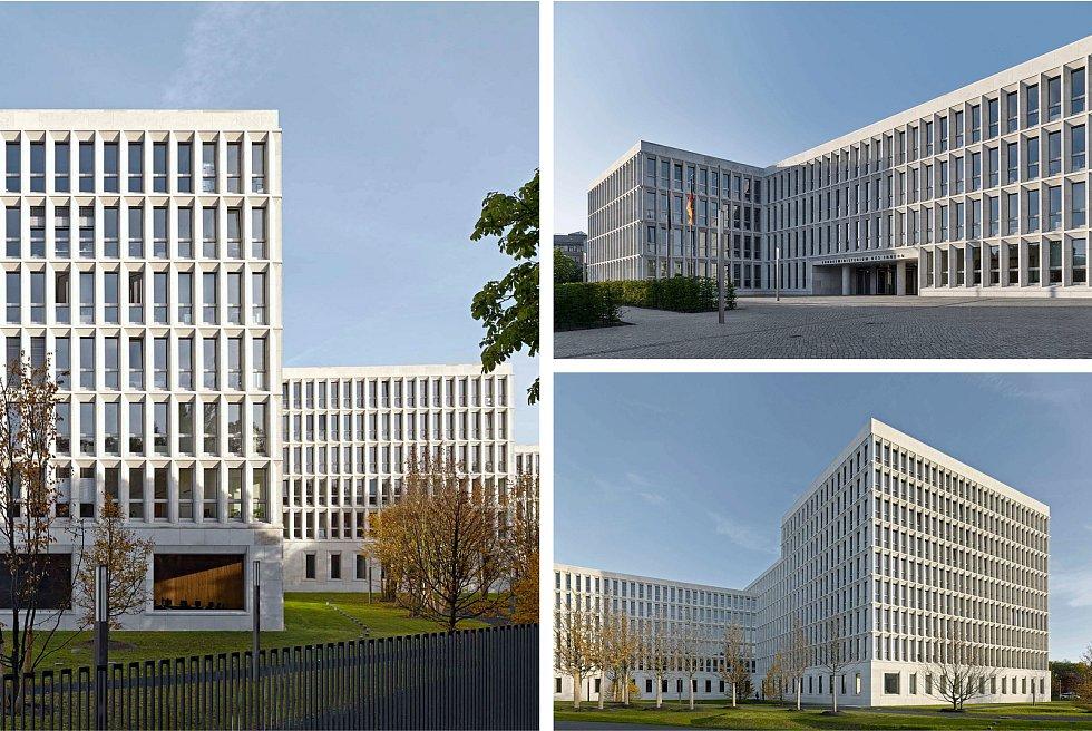 Sdružení Pelčák a partner architekti – Müller Reimann Architekten (Brno – Berlín): Federální ministerstvo vnitra, Berlín, Německo. Vizualizace.